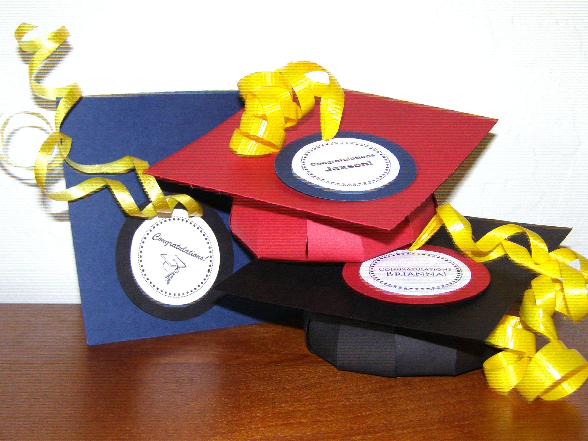 Graduation Cap Favor Box Gift For