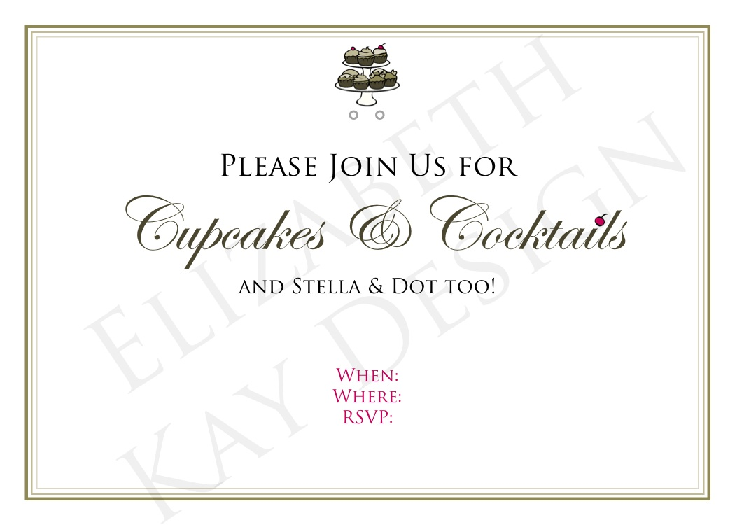 Invitation Elizabethkaydesign