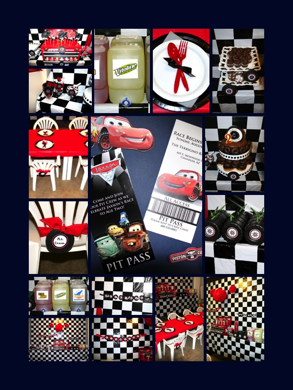 {Disney Cars Pit Crew} Birthday Party